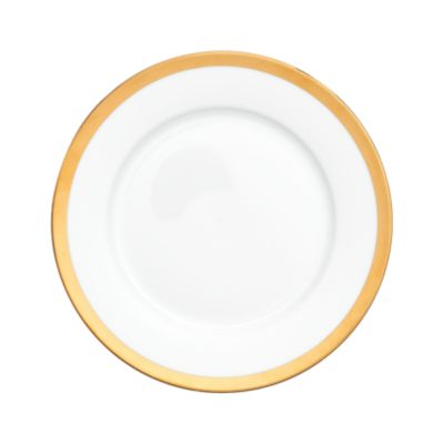 """Example of York Gold Border Lunch Plate  9"""""""