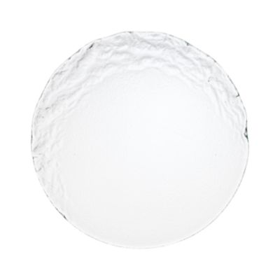 """Example of Crest Glass Dinner Plate 9.5"""""""