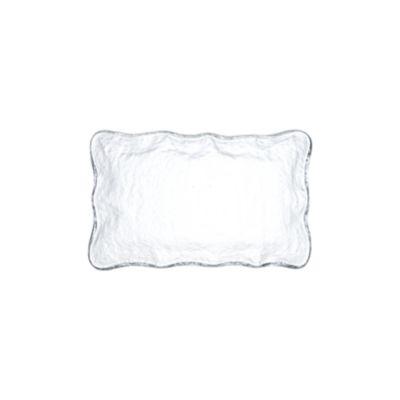 "Example of Mini Glass Olive Dish 4"" x 6.5"""
