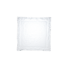 "Check out the Hammered Glass Square Cocktail Plate 7.5"" for rent"