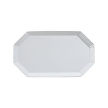 "Check out the Ceramic Coupe Tray Octagon 18"" x 10.5"" for rent"