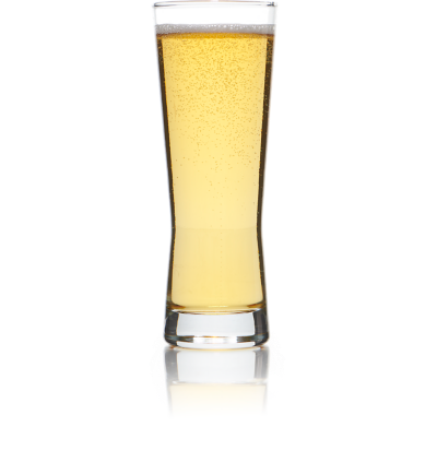 Cerveza Pilsner Glass for rent