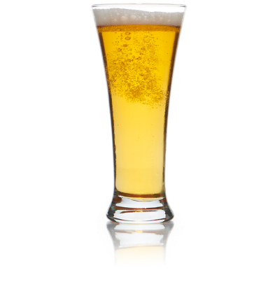 Classic Pilsner Glass for rent