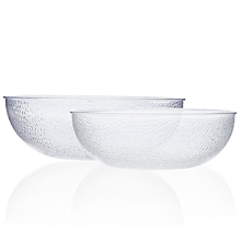 Check out the Lucite Hammered Bowl for rent