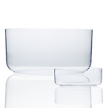 Check out the Lucite Straight Sided Bowl for rent