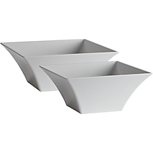 Check out the Melamine Square Bowl for rent