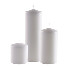Check out the Pillar Candle for rent