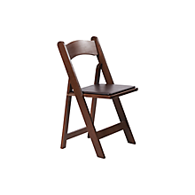 Check out the Wood Folding Chair for rent
