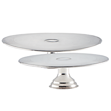 Check out the Silver Pedestal Cake Stand for rent