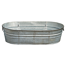 Check out the Galvanized Ice Tub for rent