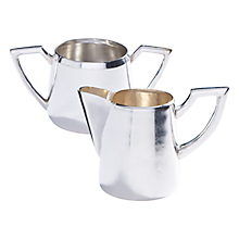 Check out the Ritz Creamer Pot and Sugar Bowl with Handles for rent