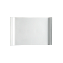 Check out the Ceramic Sloped Edge Platter Rectangle for rent
