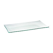 Check out the Glass Ocean Platter Rectangle for rent
