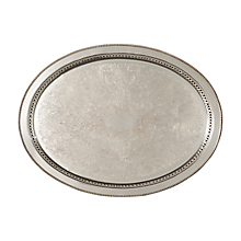 Check out the Silver Gallery Tray for rent