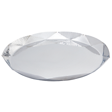 Check out the Presidential Hammered Diamond Tray for rent