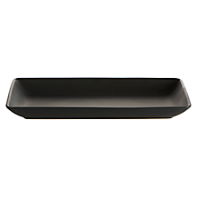 Check out the Ceramic Java Black Platter Rectangle for rent
