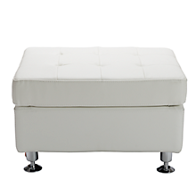 Check out the Metro Tufted Rectangle Ottoman for rent