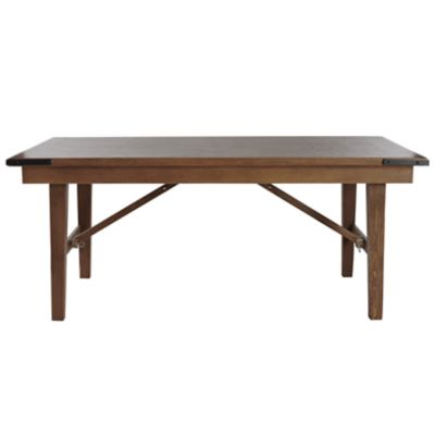 "Check out the Mason Dining Table 8'L x 42""W x 30""H for rent"