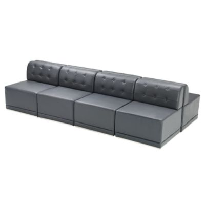 Check out the Metro Armless Sectional Double Sided for rent