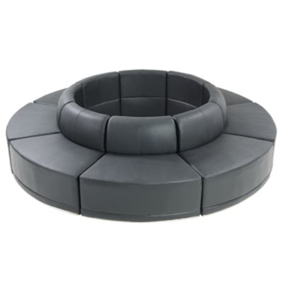 Check out the Metro Island Round Sectional for rent