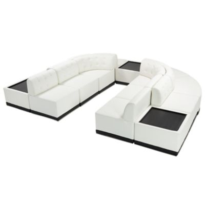Check out the Metro U Shaped Sectional Sided with Coffee Table for rent