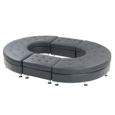 Check out the Metro Curved Ottoman Bench for rent