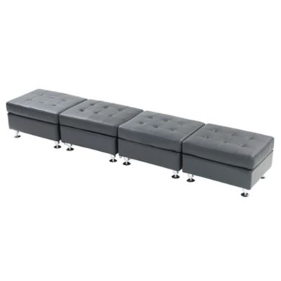 Check out the Metro Ottoman Bench for rent