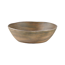 Check out the Faux Oak Wood Melamine Bowl for rent