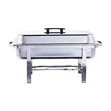Check out the Chrome Rectangle Chafer 8 qt. for rent