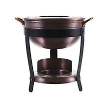 Check out the Antique Copper Fondue Pot for rent