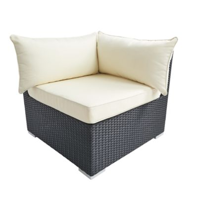 Check out the Somerset Collection Corner Chair and Cushions for rent