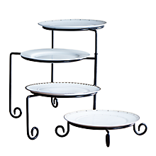 Check out the Wrought Iron 4 Arm Tiered Stand for rent