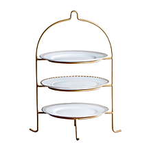 Check out the Wrought Iron 3 Tiered Plate Stand for rent