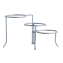 Check out the Stainless 3 Tiered Dinner Plate Stand (Limited Quantities Available) for rent