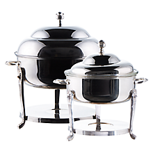 Check out the Silver Round Chafer for rent