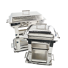 Check out the Stainless Hammered Rectangle Chafer for rent