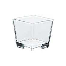 Check out the Glass Square Votive Clear for rent