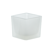Check out the Square Frosted Glass Votive for rent