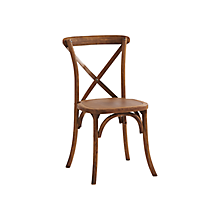 Check out the Cross Back Chair for rent