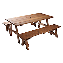 Check out the Picnic Table for rent