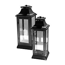 Check out the Black Hampton Lantern for rent
