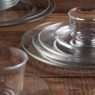 Detail image of Clear Glass Rim Collection