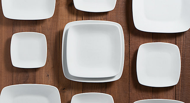 Group picture of White Square Rounded Rim Collection