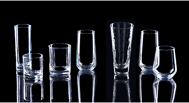 Group picture of Highball and Rocks Glassware