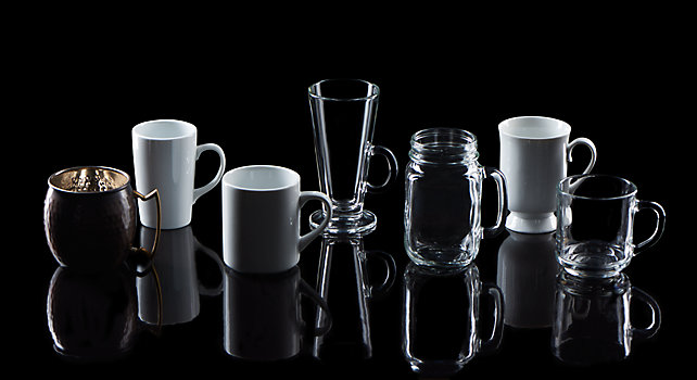 Group picture of Mug Glassware