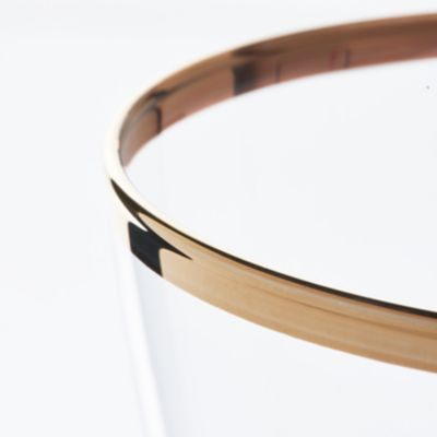 Detail image of Eleanor Gold Rim Collection
