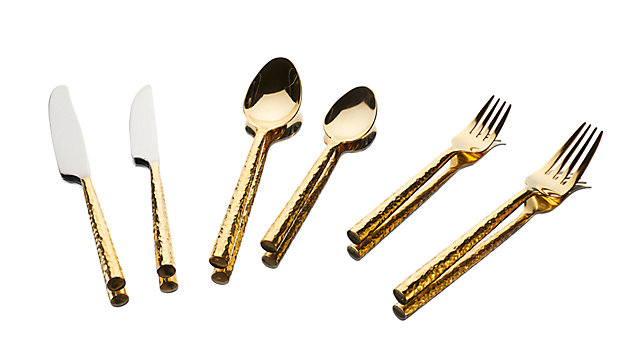 Group picture of Gramercy Gold Hammered Collection
