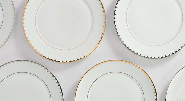 Group picture of Scallop Rim Collection