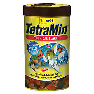 Tetramin fish food
