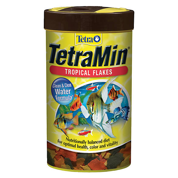 Tetra tetramin tropical flakes fish food fish food for Purina tropical fish food